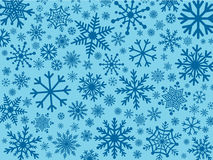 Snowflakes as background Stock Image