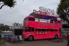 Snog Frozen Yogurt in London Stock Photo