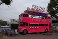 Snog Frozen Yogurt in London Stock Images