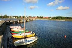 Snogebaek – Bornholm, Denmark, Royalty Free Stock Images