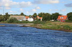 Snogebaek in Bornholm - Denmark Royalty Free Stock Images