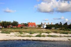 Snogebaek, Bornholm, Denmark, Europe Royalty Free Stock Image