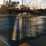 SnoitcelfeR das reflexões fotografia de stock