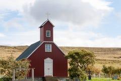 Snokdalskirkja, μια από τις πολλές ισλανδικές εκκλησίες Στοκ εικόνα με δικαίωμα ελεύθερης χρήσης