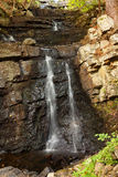 Snook Kill Falls II. Snook Kill Falls waterfall in Saratoga stock image