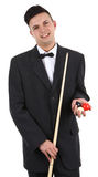 snooker игрока Стоковое Изображение RF