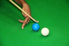 snooker съемки каверзный Стоковое фото RF