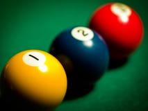 snooker шариков Стоковое Фото