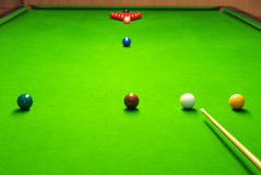 snooker Royaltyfri Bild