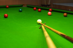snooker Fotografia Royalty Free