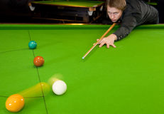 Snooker Stockfotografie