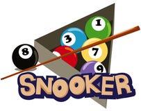 Snooker vector illustratie