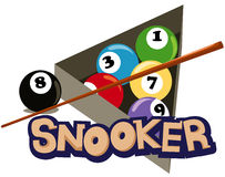 Snooker Lizenzfreies Stockbild