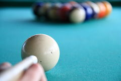Snooker Stockfoto