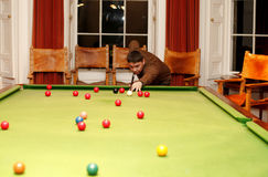 Snooker Fotografia de Stock