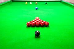 Snooker royaltyfri fotografi