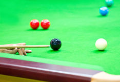Snooker. zdjęcie royalty free