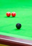 Snooker. royaltyfri bild