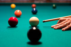 Snooker Stockbild