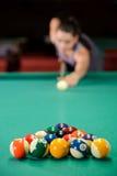 snooker royalty-vrije stock foto's