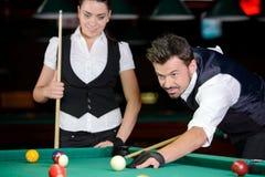 snooker royalty-vrije stock afbeelding