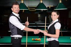 snooker stock foto