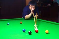 snooker Royalty-vrije Stock Foto