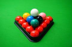 snooker Imágenes de archivo libres de regalías