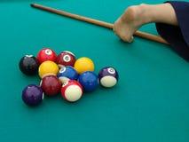 snooker Стоковая Фотография