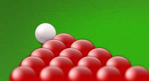 snooker royaltyfri illustrationer