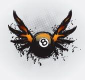 Snooker-Auslegung-Element 1 Lizenzfreie Stockfotografie