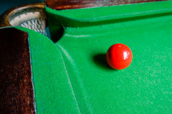 Snooker ball Stock Image