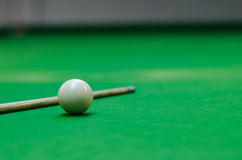 Snooker ball on table Stock Photography