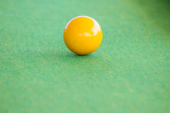 Snooker ball on table Royalty Free Stock Photos