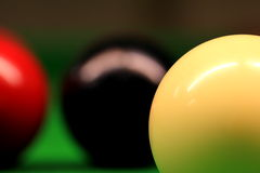 Snooker Balls Royalty Free Stock Photos