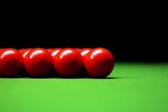Snooker balls Royalty Free Stock Photo