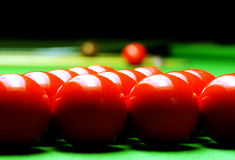 Snooker balls Stock Photos