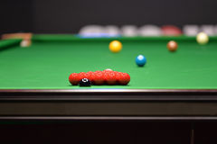 Snooker balls Stock Image