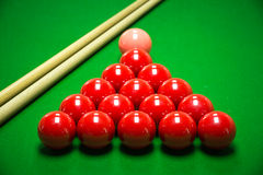 Snooker balls set Royalty Free Stock Image