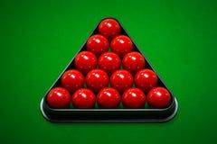 Snooker balls set Stock Image