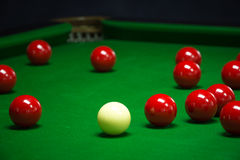 Snooker balls set Royalty Free Stock Photography