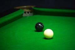 Snooker balls set Stock Photo