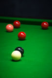 Snooker balls set Royalty Free Stock Photos