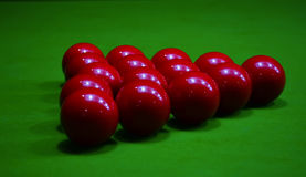 Snooker 8 balpool stock fotografie