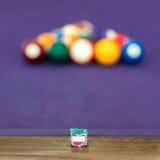 Snooker billiard Royalty Free Stock Photo