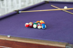 Snooker billiard Royalty Free Stock Images