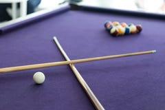 Snooker billiard Royalty Free Stock Photos