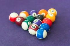 Snooker billiard Royalty Free Stock Photography