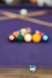 Snooker billiard Royalty Free Stock Image
