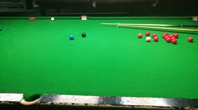 Snooker Colours royalty free stock photo